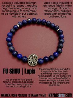 Lapis Lazuli is very spiritual. Wearing #lapis helps overcome shyness and timidity, bringing inner harmony and helping to win over the affection of others. #Beaded #Beads #Bijoux #Bracelet #Bracelets #Buddhist #Chakra #Charm #Crystals #Energy #For Her #For Him #gifts  #Healing #Healing #Jewelry #Energy #Kundalini #Law Of Attraction #LOA #Love #Mala #Meditation #Mens #prayer #pulseiras #Reiki #Spiritual #Stacks #Stretch #Womens #Yoga #Yoga Bracelets