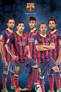 FC Barcelona 13-14 poster