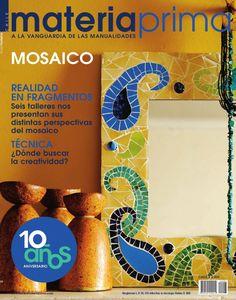 MP95 resumen  revista de manualidades Materia Prima 95, todo sobre mosaico. Tecnica, ideas, proveedores, proyectos y mas.