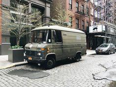 Mercedes 508D camper
