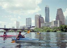 Kayaking  (try Austin Rowing Dock, Texas Rowing Center, Austin Rowing Club)   Austin A to Z Bucket List