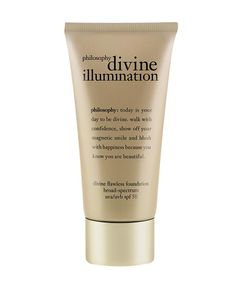 SPF 50 and packed with brightening antioxidants | Philosophy Divine Illumination