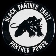Huey Newton and Bobby Seale founded the Black Panther party in The Black Panthers played an important part in the Civil Rights movement. Black Panther Party, Angela Davis, Black Panthers Movement, Party Logo, By Any Means Necessary, Power To The People, Black Pride, African American History, Black Power