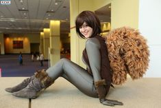 Love the tail! A Squirrel Girl cosplay! - 8 Squirrel Girl Cosplays