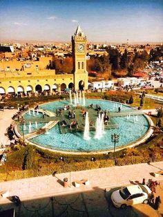 Erbil . Kurdistan  The capital of the tourist /  Shar park.                                      Ahmed.z.pasha