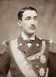 A portrait of Prince Luigi Amadeo of Savoy-Aosta, Duke of Abruzzi.