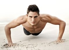 """I'm in love with Sean Faris! """"Anybody can be fit, but you have to be patient. Give your body some time to adjust."""" - Sean Faris in MH   ( To doing 100 pushups per day.)"""