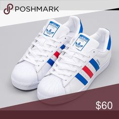 watch 52b7e 5d892 NWOT adidas originals superstar! Brand new, never worn! Mens size 8.5! A  classic piece but unfortunately not quite my style! adidas Shoes Sneakers