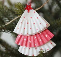 16+bezaubernde+Bastelideen+für+Weihnachten+…,+auch+zum+Basteln+mit+Kindern!