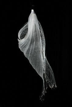Flexible Fashion: Sculptural Knit Fabric: HyunJin Yun talented Korean knitwear designer II. part