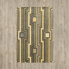 Found it at AllModern - Manchester Hand-Tufted Beige/Gray Area Rug