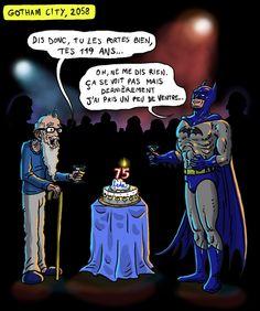 Hommage pour les 75 ans de Batman, mon Héros !