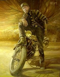 OILY RAGS: BIKER ART