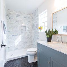80 stunning tile shower designs ideas for bathroom remodel (28)