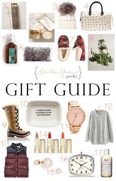 { Dallas Shaw gift guide }