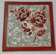 Plus de 1000 id es propos de ma mosa que sur pinterest rouge imprim s floraux d 39 poque et - Modele mosaique pour plateau ...
