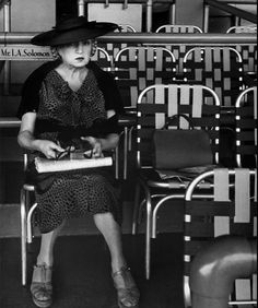 "Lisette Model - ""Belmont Park, New York City,"" 1956"