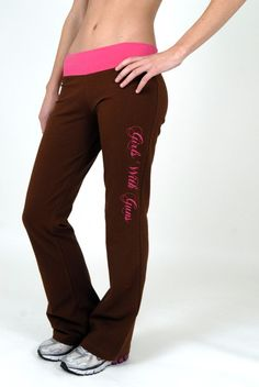 GWG Lounge Pants Brown my husband is going to go broke now lol