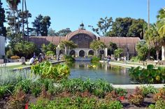 San Diego with Kids - Balboa Park Botanical Building
