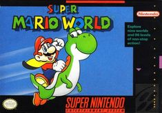 305 best Video game box art images on Pinterest   Videogames  Retro     The Game That Sold The SNES     Super Mario World Review