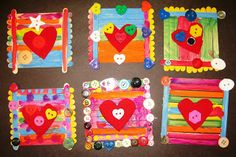 The Kreative Klassroom:  Kinder Valentine's art inspired by Painted Paper