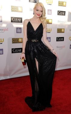 In This Photo: Jaime King  18th Annual Critics' Choice Movie Awards..The Barker Hanger, Santa Monica, CA..January 10, 2013