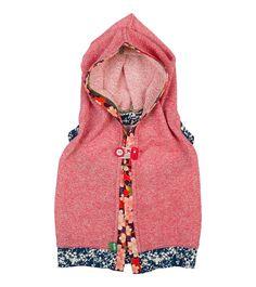 Pink Lemonade Shrug, Oishi-m Clothing for kids, HiSummer 2016, www.oishi-m.com