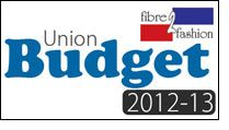 Union Budget for 2012-13 - Live textile budget snippets from @fibre2fashion