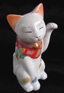 招き猫・親【菊】