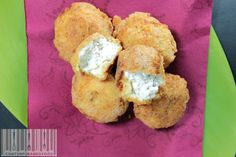 Crocchette di pollo e ricotta.