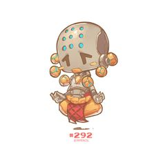 #292 - Zenyatta, Jr Pencil on ArtStation at https://www.artstation.com/artwork/zKJGZ