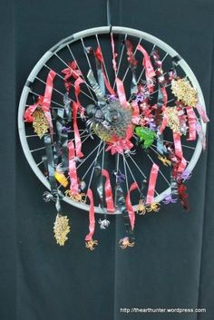Art Hunter of SA decorated bike wheels