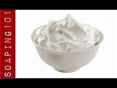 Krémové mydlo - ako šlahané z mydla