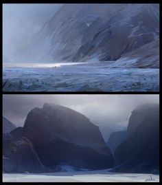 planicies y colinas heladas de la soledad