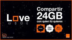 Love Familia Total te ofrece más abundancia y velocidad. Aprovecha el 50% #DESCUENTO durante 3 meses solo en Orange #FelizLunes