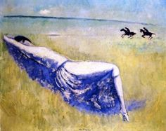 Reclining Woman - Kees van Dongen - The Athenaeum