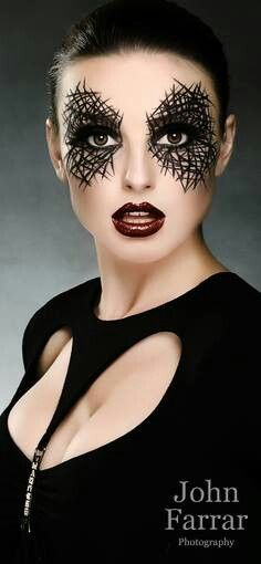 """Ain't that just the kewlest eye makeup you've ever seen?!?  The whole image just defines """"imagination."""""""