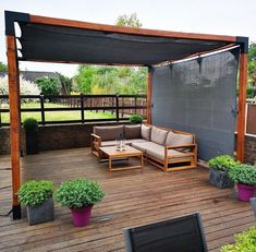 A pergola gives a secluded region and shade in the summertime. A pergola is something which will fall in that category. Then pergola is a superb choice. There's nothing quite like a gorgeous, modern-day pergola in order to add value… Continue Reading → Pergola Plans, Shade Sail, Patio Design, Backyard Decor