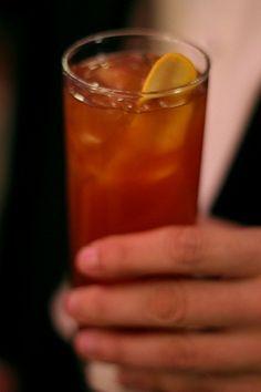 Balaton Cocktail (Zwack, lemon juice, simple syrup, vermouth, orange marmalade, Peychaud's, soda)