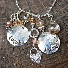 Mommy Necklace...personalized with LOVE!