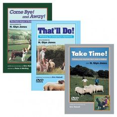 Special Offer: all three sheepdog training DVDs for £39.95. Come Bye! and Away!, That'll Do! and Take Time!
