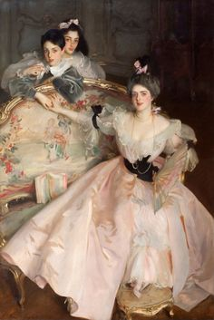 Mrs Carl Meyer and her Children by John Singer Sargent (1856 - 1925)