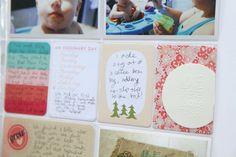 5 Tips for Catching Up with Pocket Scrapbooking - from someone who made over 50 pages in a few months!