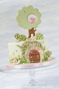 The Secret Garden cake