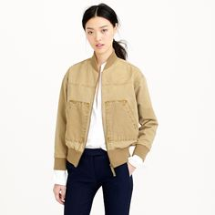 Khaki utility jacket : AllProducts | J.Crew