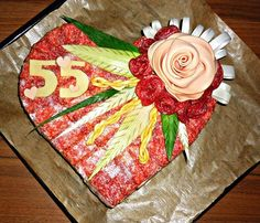 30 Inspiration for the most beautiful savory pies - Toasttorten - Wurst Tortas Sandwich, Sandwich Torte, Types Of Cheese, Pizza Hut, How To Make Cake, Finger Foods, Brunch, Food And Drink, Appetizers