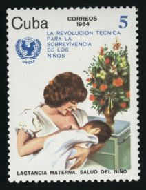 UNICEF stamp - Cuba, 1984