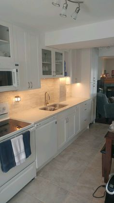 B Wise will provide a complete kitchen reno including flooring, cabinets, stone countertops, electrical, and plumbing. Kitchen Reno, Kitchen Cabinets, Stone Countertops, Plumbing, Flooring, Home Decor, Kitchen Cupboards, Homemade Home Decor, Wood Flooring