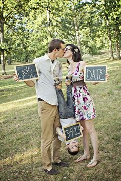 Save the date photo idea that includes children // Mandi Gummels Photography Man. - Save the date photo idea that includes children // Mandi Gummels Photography Mandi Smith T Interior - Funny Save The Dates, Unique Save The Dates, Save The Date Photos, Wedding Save The Dates, Wedding Couple Pictures, Engagement Pictures, Wedding Couples, Wedding Pictures, Wedding Engagement