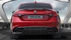 Alfa Romeo's Sports Sedan is a Future Classic: HagertyThe 2017 Alfa Romeo Giulia Quadrifoglio has Fast Sports Cars, Super Sport Cars, Alfa Romeo Quadrifoglio, 2015 Cars, Small Luxury Cars, Alfa Romeo Giulia, Sports Sedan, Bmw M4, Top Cars